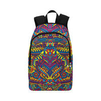 Groovy ZenDoodle Colorful Art Fabric Backpack for Adult (Model 1659)   ID: D1765794