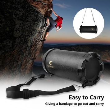 Outdoor Portable Speaker with Enhanced Bass