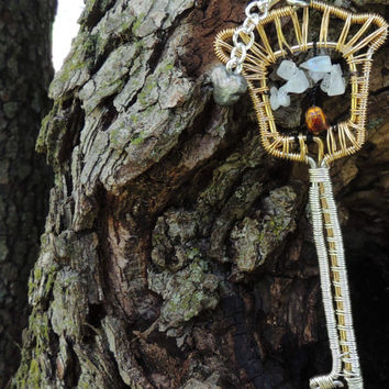 Kingdom Hearts Keyblade Tree of Life Pendant