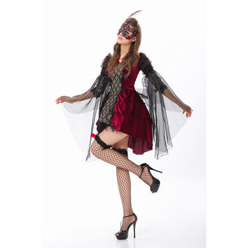 Halloween Costume Zombie Prom Dress [8979046215]