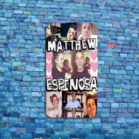 Matthew Espinosa iPhone Case Cute Collage Custom iPhone Case Cell Phone Cover iPhone 4 iPhone 5 iPhone 4s iPhone 5s iPhone 5c Case