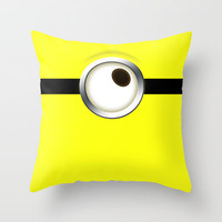 one-eye Throw Pillow by cbrocoff | Society6