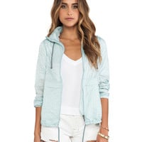 Free People Parachute Festival Jacket in Blue