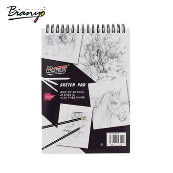Sketchbook A4 A5 160gsm / 24 Premium Paper Sheets / A4 Folio / Hardbook Sketchbook / Sketch Pad / Artists Sketchbooks / Journal Notebook