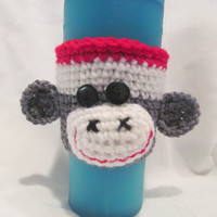 Smock the Sock Monkey Coffee Cup Cozy