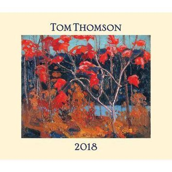 Thomson Wall Calendar, Contemporary Art by Firefly Books Ltd