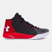 Under Armour Men's UA Torch Fade Basketball Shoes Black/Red/White Stephen Curry