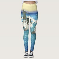 TOP Motion on the Ocean Leggings