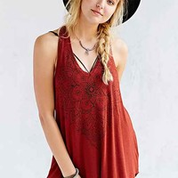 Truly Madly Deeply Textured Henna Art Tank Top-