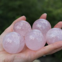 Rose Quartz Crystal Sphere 20mm