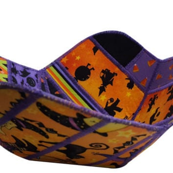 Decorative Halloween Bowl Reversible