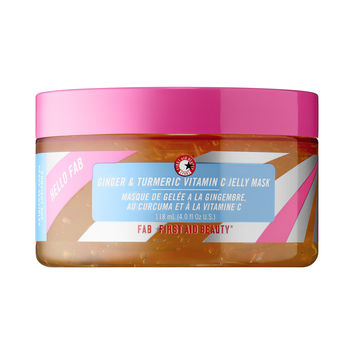 Hello FAB Ginger & Turmeric Vitamin C Jelly Mask - First Aid Beauty   Sephora