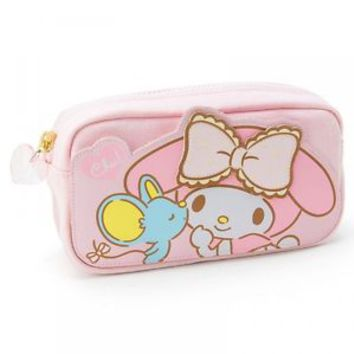 Sanrio My Melody Pen Pouch CHU Japan New
