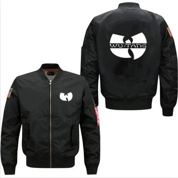 wutang hiphop  men's leisure jacket  marvel Deadpool jacket code Air Force pilots  men's baseball uniform fast shipping fastship