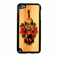 Star Wars Roses Tatto In Wood iPod Touch 5th Generation Case