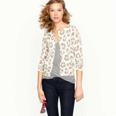COTTON CARDIGAN IN OVERBLOOM FLORAL