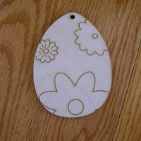 "Wall size 11.5"" tall laser engraved design Easter Eggs"