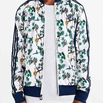 adidas Originals Island Superstar Track Jacket- Bright Blue
