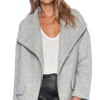 Lovers + Friends x REVOLVE Merci Coat in Gray