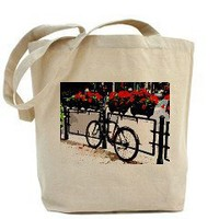 Bike & Red Flowers Tote Bag	 Bike & Red flowers	 Good Afternoon
