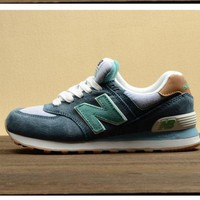 DCCKGQ8 new balance leisure shoes running shoes men s shoes for women s shoes couples n word green