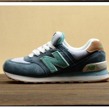QIYIF new balance leisure shoes running shoes men s shoes for women s shoes couples n word green