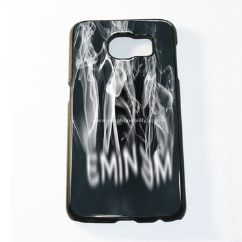Eminem Logo Smoke Samsung Galaxy S6 and S6 Edge Case