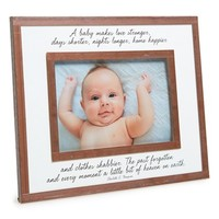 Ben's Garden 'Baby Makes Love Stronger' Picture Frame (4x6)