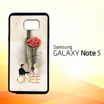 Once Upon A Time Rose X3423  Samsung Galaxy Note 5 Case