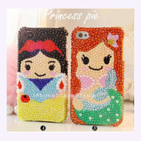 iPhone 4 Case, iPhone 4s Case, iPhone 5 Case, iPhone 5 bling case, Bling iPhone 4 case, Cute iPhone 4 case, girly iphone 4 case mermaid