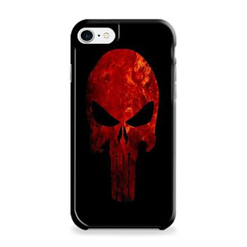 Punisher Skull (red and black detailed) iPhone 6 | iPhone 6S Case