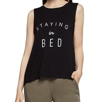 BCBGenerationStaying In Bed Muscle Tank