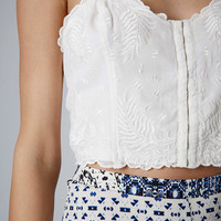Embroidered Bralet