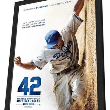 42 11x17 Framed Movie Poster (2013)