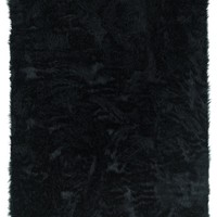 Linon Faux Sheepskin Area Rug