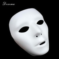 5pcs lot Hip Hop GHOST DANCE Mask White Popping Fa