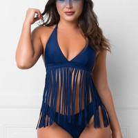 Gleaming Coast Two Piece Swimsuit