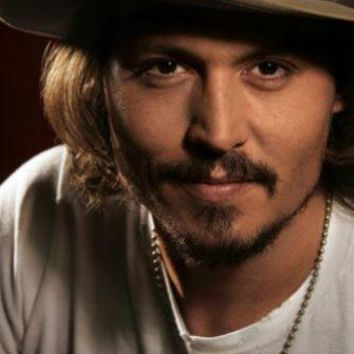 Johnny Depp Metal Print 8in x 12in