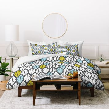 Heather Dutton Foliar Duvet Cover