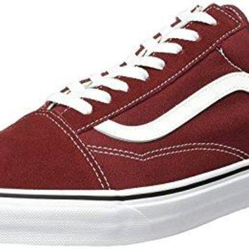980c40d81b521a Vans Old Skool Madder Brown Mens Suede Skate Trainers