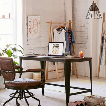 Pia Wooden Desk | Urban Outfitters
