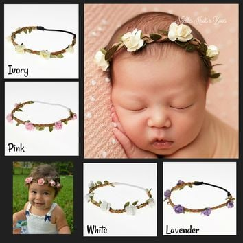426bb81ca Best Crown Flower Headband For Toddler Products on Wanelo