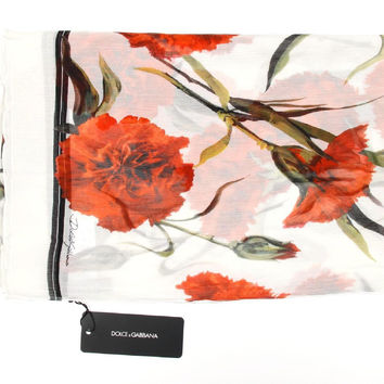 Dolce & Gabbana ladies silk scarf FS106A GD599