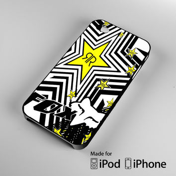 Fox Racing V3 Rockstar Dungey A0267 iPhone 4S 5S 5C 6 6Plus, iPod 4 5, LG G2 G3, Sony Z2 Case