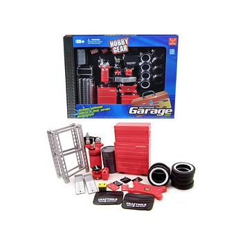 Garage Accessories Set For 1:24 Scale Diecast Models by Phoenix Toys