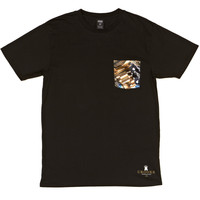 Crooks and Castles Timepiece Pocket T-Shirt