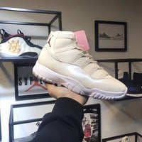Air Jordan 11 Jeter Re2pect Basketball Sneaker