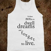 Harry Potter dreams tank top