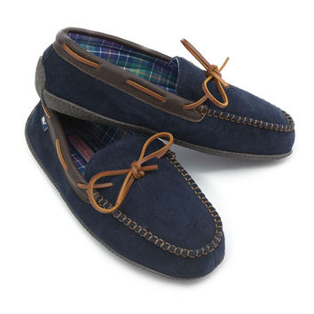 Vineyard Vines Lounge Moccasin- Navy