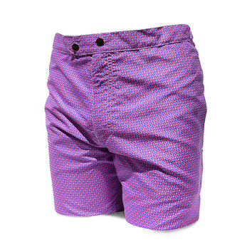98 Coast Av Pattern Slim Fit Trunks Purple
